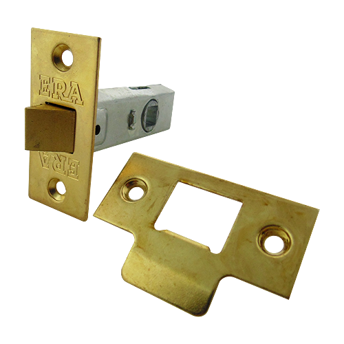 "ERA188 Tubular Mortice Latch, 2.5"" Brass"