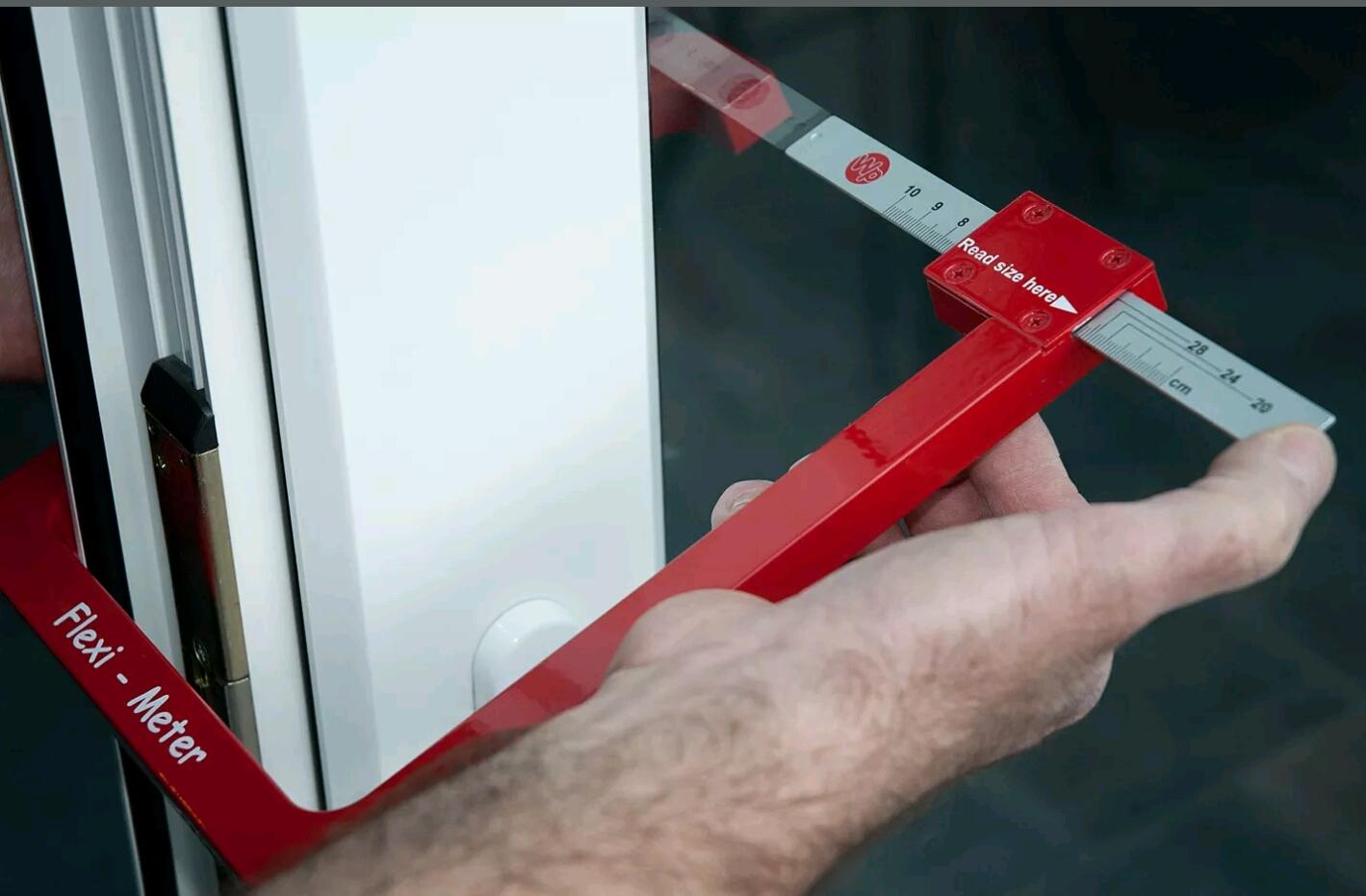 Flexi Meter For Measuring Double Glazing Units Flexim